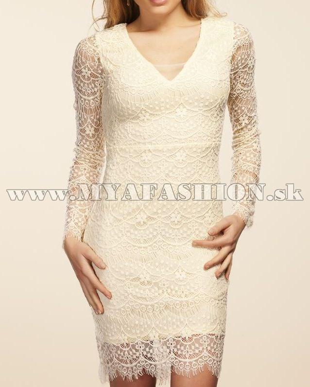 e89cfadd39 dámske čipkované šaty s dlhým rukávom