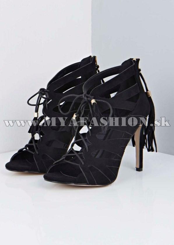 02a4e18cdef7 Dámske topánky - dámske elegantné sandále so zipsom