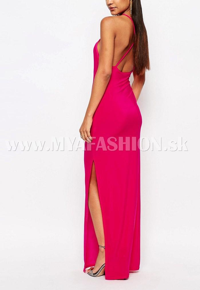 88452f35f82b dámske dlhé ružové šaty