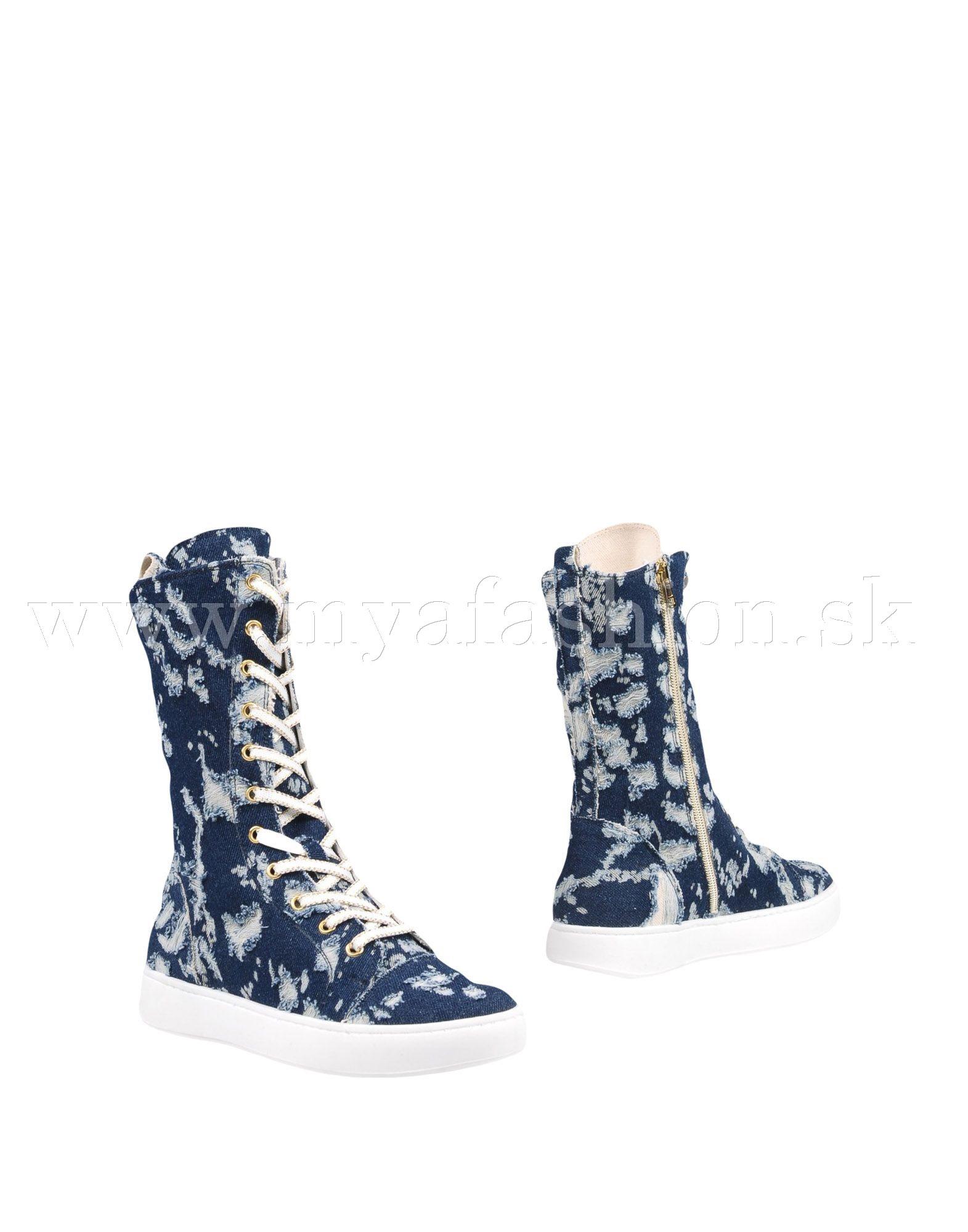 70150d4c9d1b Dámske topánky - dámske vysoké šnurovacie tenisky