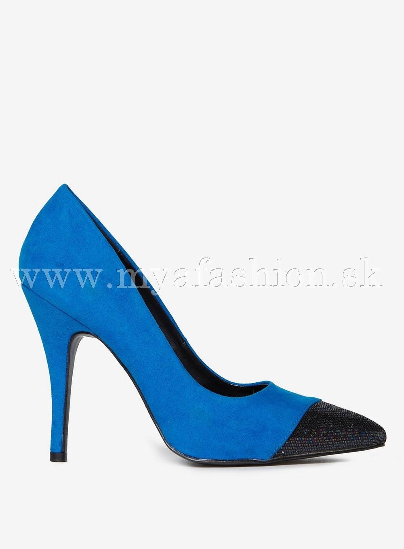 75e4723c24e6 Dámske lodičky - dámske modré lodičky