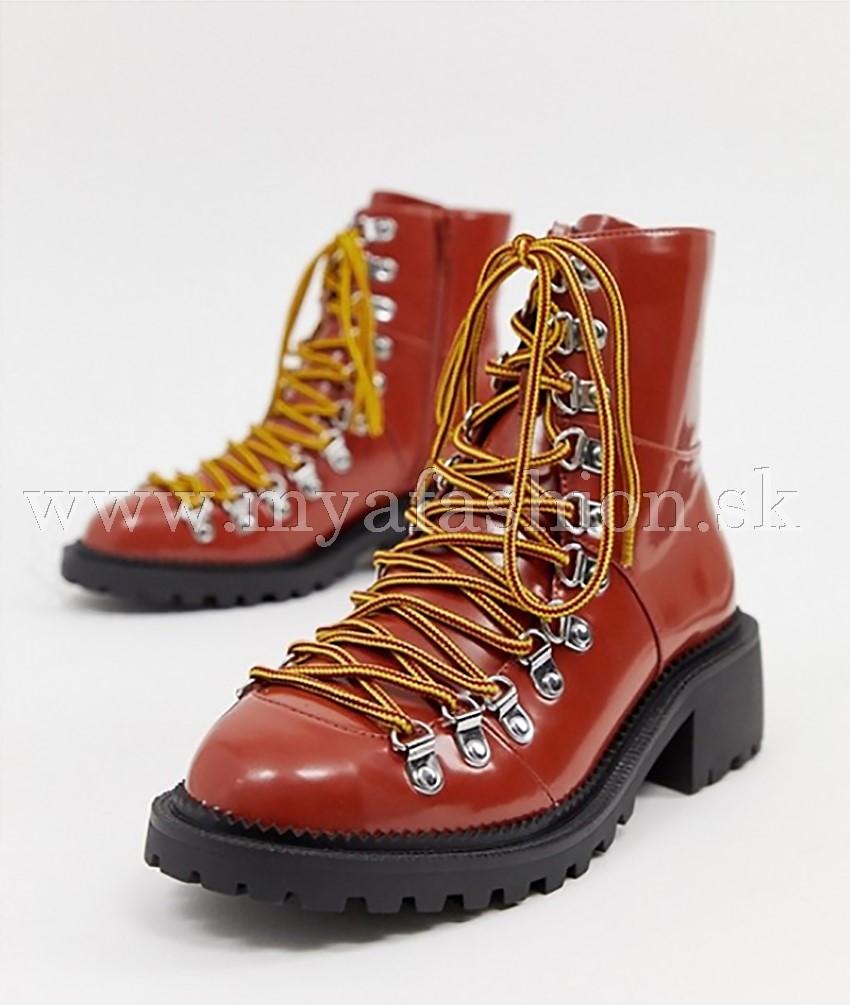067fb9881 Dámske čižmy - dámske traktorové zimné topánky