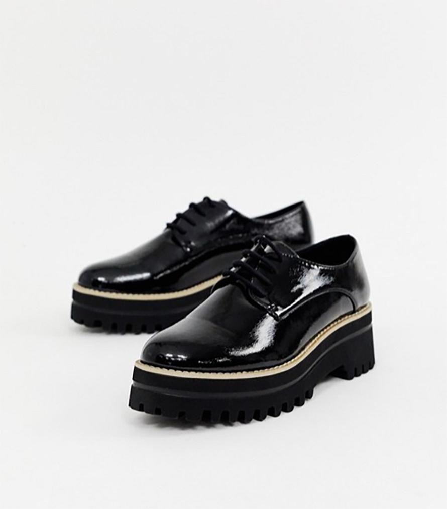 f42ffc216c90b Dámske topánky - dámske lakované platformové topánky