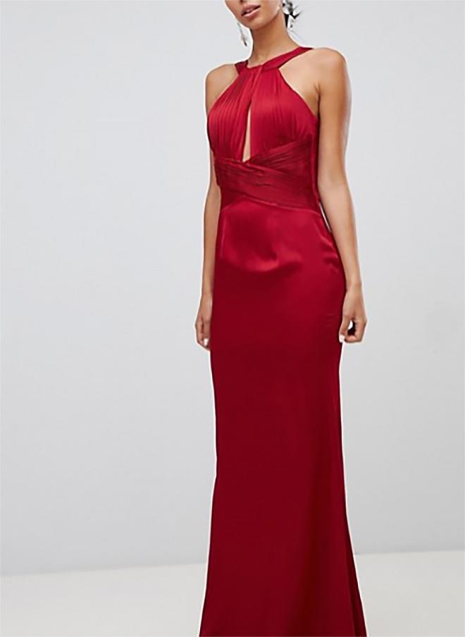 7dc0fb2e9484 dámske červené spoločenské šaty