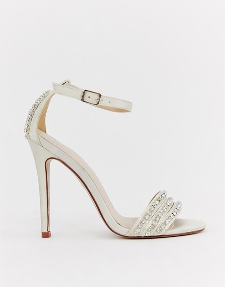 c4708ce18c28 Dámske sandále - dámske svadobné kamienkové sandále