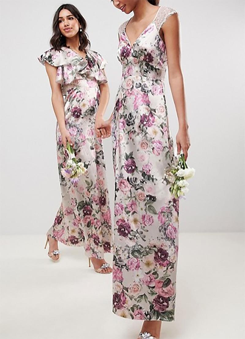 97e265d6e7 dámske kvetinové dlhé šaty