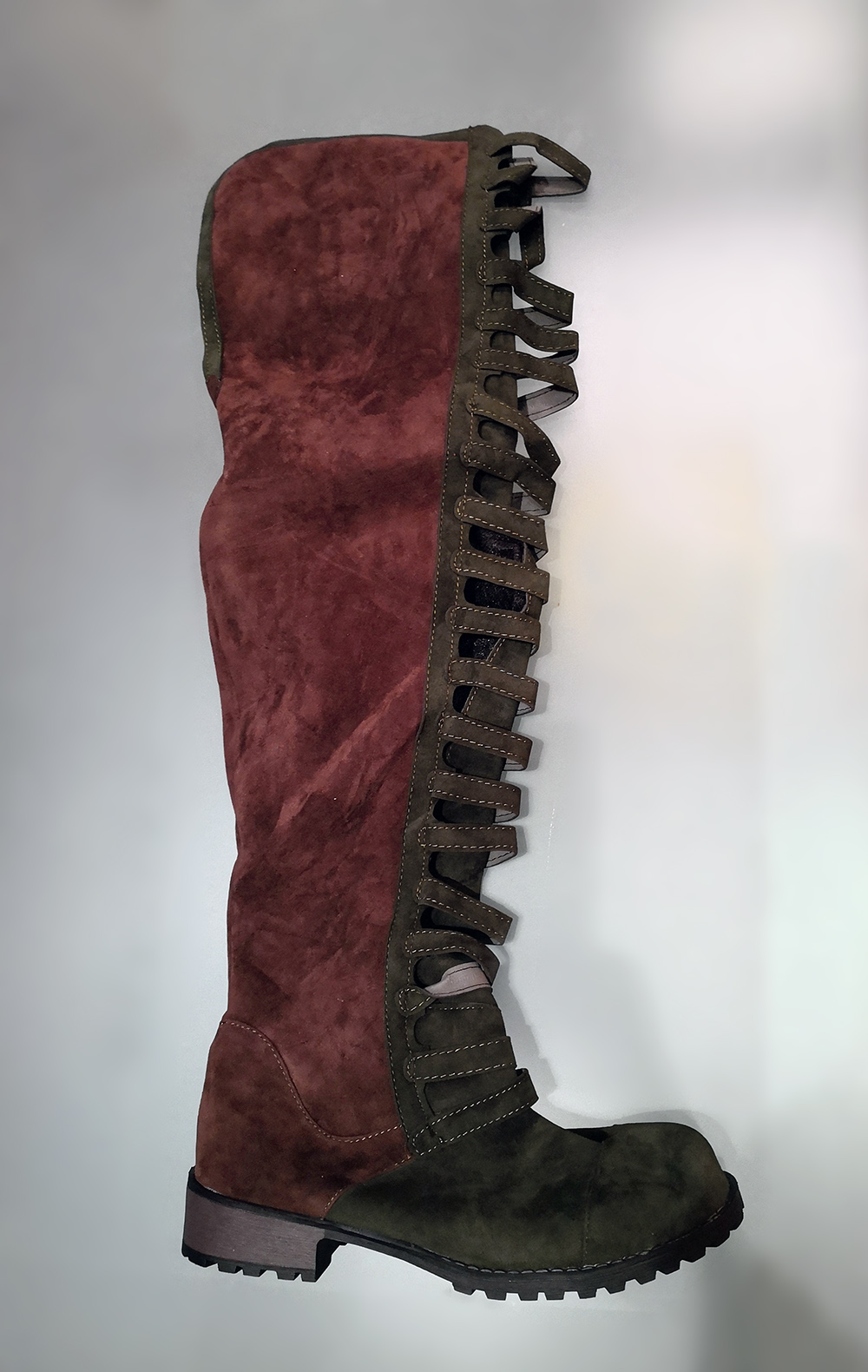 2c683df14d Dámske čižmy - dámske dizajnové vysoké čižmy nad kolená