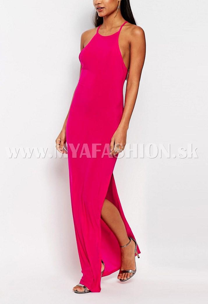 75337dbf26a5 dámske dlhé ružové šaty
