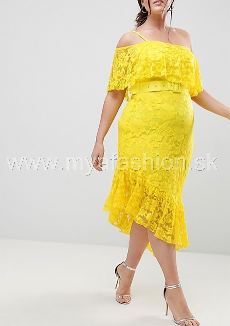 be1d835ea496 dámske žlté šaty pre moletky