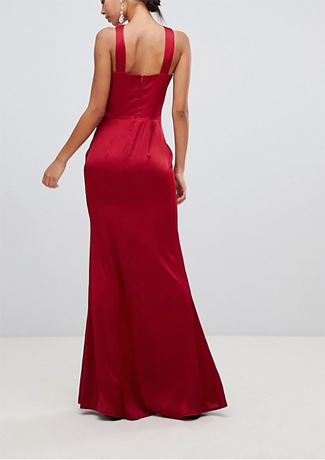 5d108adb5ef4 dámske červené spoločenské šaty
