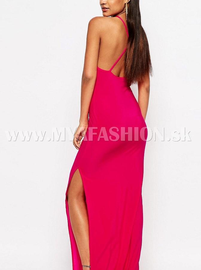 aba833e127 dámske dlhé ružové šaty