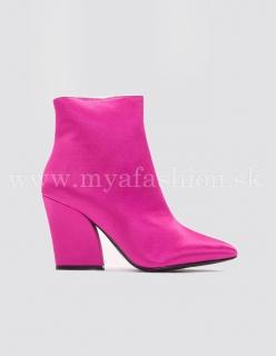 346b85e37d66 dámske ružové členkové čižmy