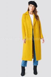 d6d0342b9d98 dámsky žltý kabát