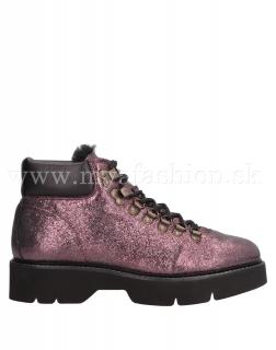 e470d1e204 dámske fialové metalické zimné topánky