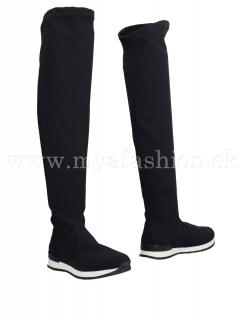 dámske elastické ponožkové čižmy 61989cbeb1e