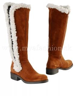 dámske ťavie zimné kožené čižmy cf6ebb00195