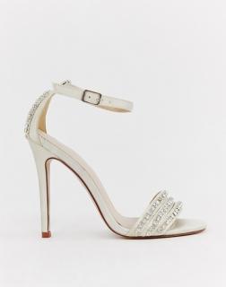 96438d136633 dámske svadobné kamienkové sandále