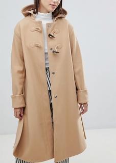 Novinka. dámsky béžový kabát s kapucňou edbb7d429dd