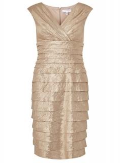 bbbf42730621 dámske zlaté spoločenské tubové šaty