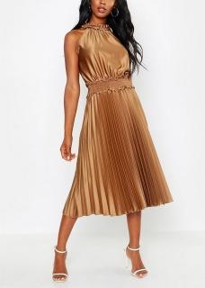 21fa93240285 dámske plisované letné šaty